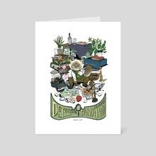 Detective Taro - Art Card by Celine Kim