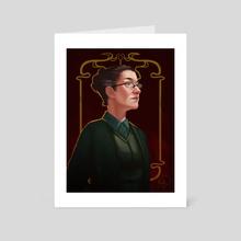 Professor Mcgonagall - Art Card by Mali Ware