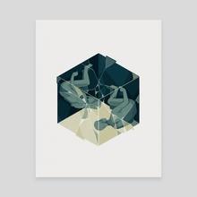 Cube 04 - Canvas by Reno Nogaj