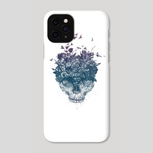 My head is a jungle - Phone Case by Balazs Solti