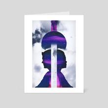 Exit Mind - Art Card by saturn.falls