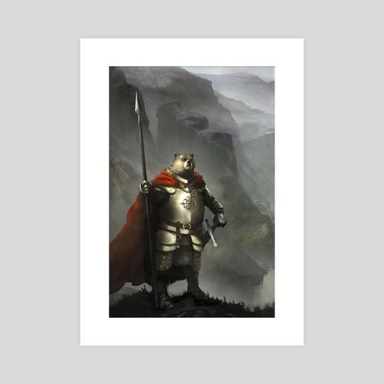 Bear Storm Guard by kim van deun