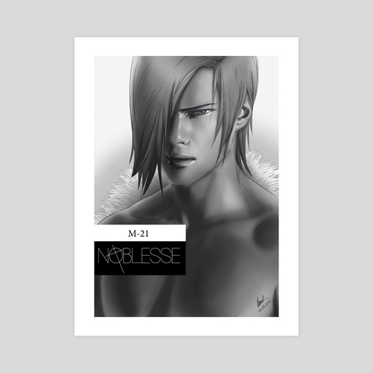 Noblesse fan art - M-21 by Katalina Ooma