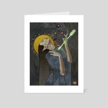 Inquisitor Lavellan - Art Card by Ekaterina Kuznetsova