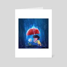 Love is - Art Card by Nelson Lip