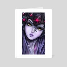 Widowmaker - Art Card by Anastasia Su