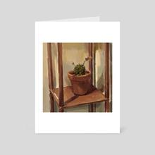 Cactus #8 - Art Card by Eric Paints