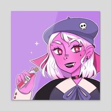 Mara (OC) - Acrylic by koibi draws