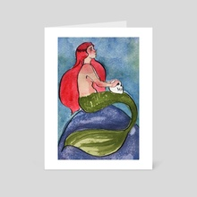 La Sirena - Art Card by Lucie Hayford