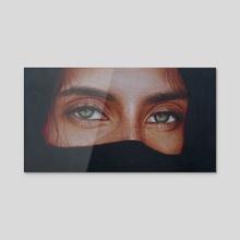 Gypsy - Acrylic by Katharina Gozé