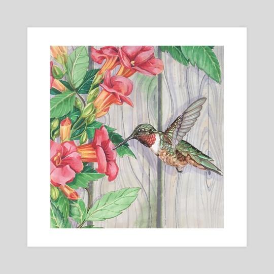 Hummingbird by Crystal Requiem