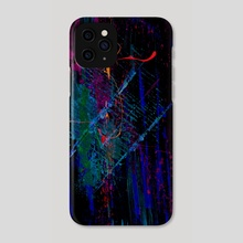 STP Screen Transfer Process - 0032 - Misfortune of Reincarnation - Phone Case by Wetdryvac WDV