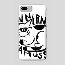 Feline Fame - Phone Case by Alex Doty