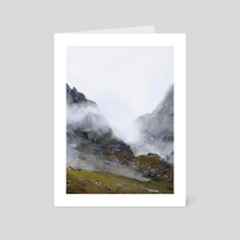 Nameless Mountains - Art Card by Camila Vielmond