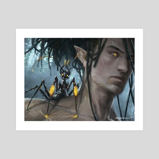 Wirewood Symbiote - MTG by Yohann Schepacz