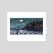 Moonlight - Art Card by Amber  Ren