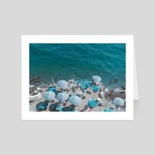 Positano 1.6 - Art Card by Solmaz Saberi