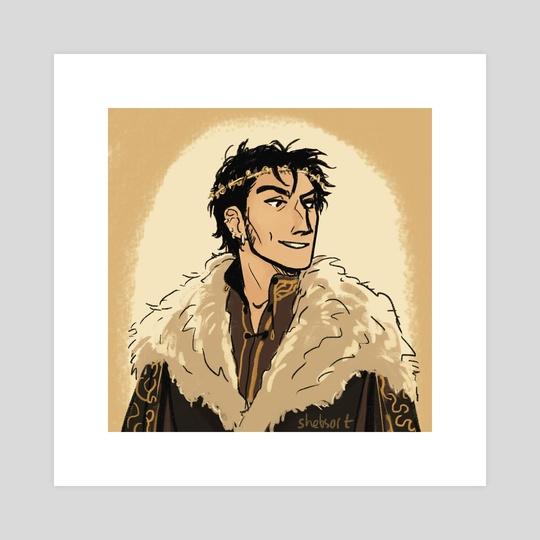Theon Greyjoy, aCoK by shebsart