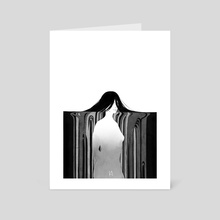 untitled part 2 - Art Card by charoncreates (Koletta Anastasia)