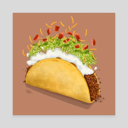 Taco Taco Taco by Hannah Ahn