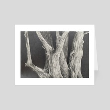 Common Trees - Art Card by Jamie Whitten