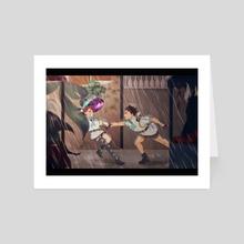 Sunshower - Art Card by Lissa