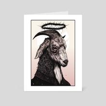 The Light That Blinds - Art Card by Topher Petsch