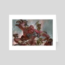 Ogre Warrior - Art Card by Even Mehl Amundsen