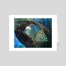 VN Eagle - Art Card by Kip Ayers