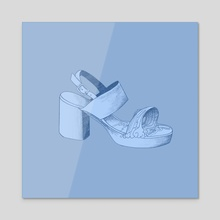 Cancer Zodiac - Acrylic by Emily Gunn