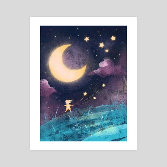 Night Sky by Ffion Evans