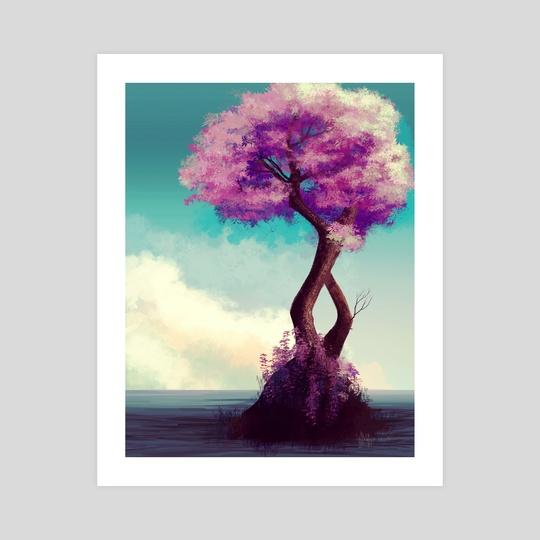 Lonely Tree by K. C. Garza
