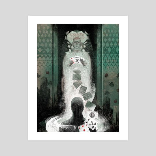 The Queen of Spades and other stories Gost by Anna and Elena Balbusso Twins