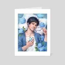 Yuri Katsuki - Art Card by Ingrid Tan