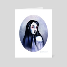 Blueberry - Art Card by Alice Traum