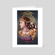 Zelda - Art Card by Nada Vaaters