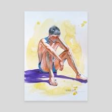 Enjoy sunshine - Canvas by Hongtao Huang