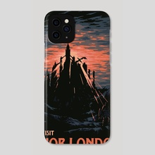 Vist Anor Londo - Phone Case by Matheus Lopes