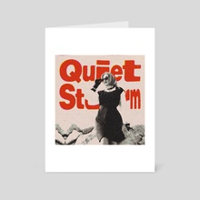 Quiet Storm - Art Card by Spenceless Designz