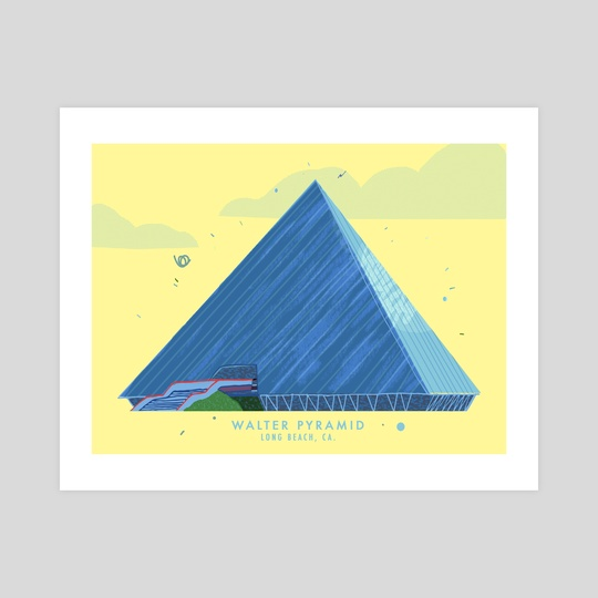 Walter Pyramid, Long Beach, CA by Jordan Lance