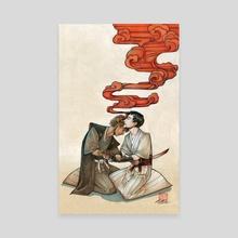 Kaishakunin - Canvas by Grace Fong
