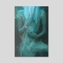 Gossamer - Acrylic by Marcela Bolivar