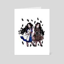 Dark Alice  - Art Card by Elisabeth Zill