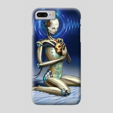Droid Void - Phone Case by Bill Melvin