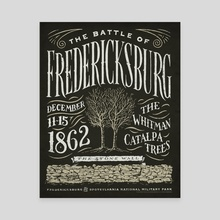 The Battle of Fredericksburg - Canvas by The Union Archive