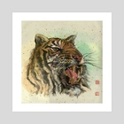 Tiger - 45 - Art Print by River Han