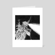 The Necromancer - Art Card by Emilio Palazzo