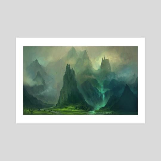 Journey to the Castle by Nele Diel