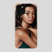 Asian Girl - Phone Case by Chiara Berrugi
