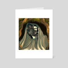 Shelter - Art Card by T. A.
